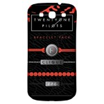 Twenty One Pilots Event Poster Samsung Galaxy S3 S III Classic Hardshell Back Case Front