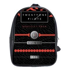 Twenty One Pilots Event Poster School Bag (xl)