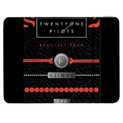 Twenty One Pilots Event Poster Samsung Galaxy Tab 7  P1000 Flip Case