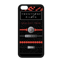 Twenty One Pilots Event Poster Apple Iphone 5c Seamless Case (black)
