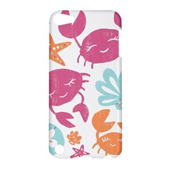 Animals Sea Flower Tropical Crab Apple Ipod Touch 5 Hardshell Case