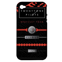 Twenty One Pilots Event Poster Apple Iphone 4/4s Hardshell Case (pc+silicone)