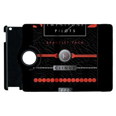 Twenty One Pilots Event Poster Apple Ipad 2 Flip 360 Case