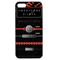 Twenty One Pilots Event Poster Apple Iphone 5 Hardshell Case With Stand