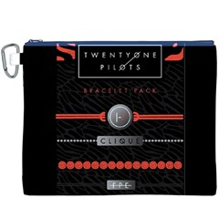 Twenty One Pilots Event Poster Canvas Cosmetic Bag (xxxl)