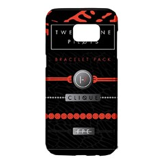Twenty One Pilots Event Poster Samsung Galaxy S7 Edge Hardshell Case