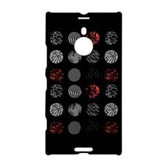Digital Art Dark Pattern Abstract Orange Black White Twenty One Pilots Nokia Lumia 1520