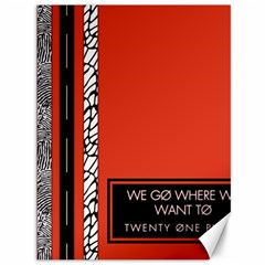 Poster Twenty One Pilots We Go Where We Want To Canvas 36  X 48