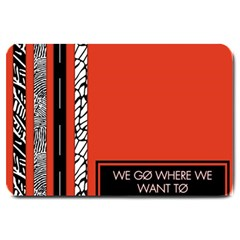 Poster Twenty One Pilots We Go Where We Want To Large Doormat