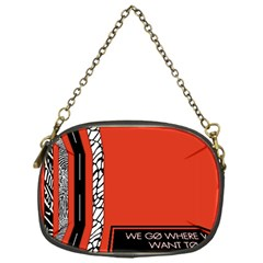 Poster Twenty One Pilots We Go Where We Want To Chain Purses (one Side)