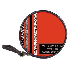 Poster Twenty One Pilots We Go Where We Want To Classic 20 Cd Wallets