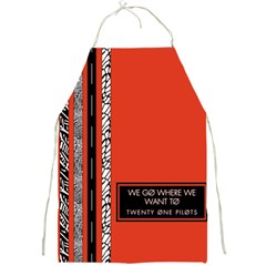 Poster Twenty One Pilots We Go Where We Want To Full Print Aprons