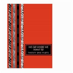 Poster Twenty One Pilots We Go Where We Want To Large Garden Flag (two Sides)