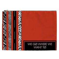 Poster Twenty One Pilots We Go Where We Want To Cosmetic Bag (xxl)