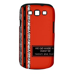 Poster Twenty One Pilots We Go Where We Want To Samsung Galaxy S Iii Classic Hardshell Case (pc+silicone)