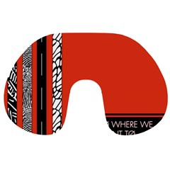 Poster Twenty One Pilots We Go Where We Want To Travel Neck Pillows