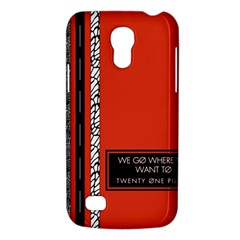 Poster Twenty One Pilots We Go Where We Want To Galaxy S4 Mini