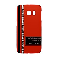 Poster Twenty One Pilots We Go Where We Want To Galaxy S6 Edge