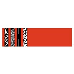 Poster Twenty One Pilots We Go Where We Want To Satin Scarf (oblong)