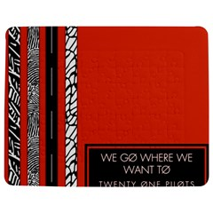 Poster Twenty One Pilots We Go Where We Want To Jigsaw Puzzle Photo Stand (rectangular)