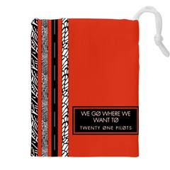 Poster Twenty One Pilots We Go Where We Want To Drawstring Pouches (xxl)