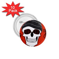 Poster Twenty One Pilots Skull 1 75  Buttons (10 Pack)