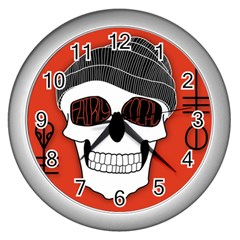 Poster Twenty One Pilots Skull Wall Clocks (silver)