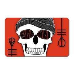 Poster Twenty One Pilots Skull Magnet (rectangular)