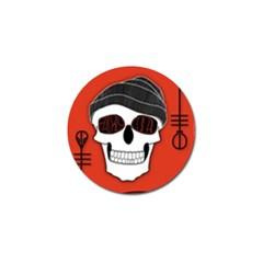 Poster Twenty One Pilots Skull Golf Ball Marker (4 Pack)