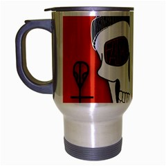 Poster Twenty One Pilots Skull Travel Mug (silver Gray)