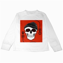 Poster Twenty One Pilots Skull Kids Long Sleeve T Shirts