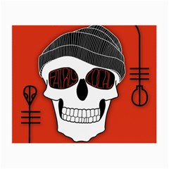 Poster Twenty One Pilots Skull Small Glasses Cloth (2 Side)