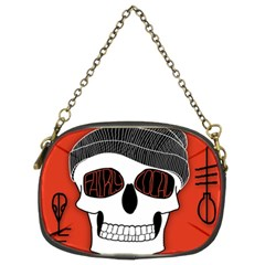 Poster Twenty One Pilots Skull Chain Purses (two Sides)