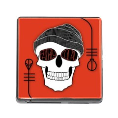Poster Twenty One Pilots Skull Memory Card Reader (square)