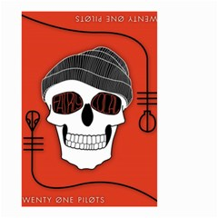 Poster Twenty One Pilots Skull Small Garden Flag (two Sides)