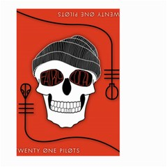 Poster Twenty One Pilots Skull Large Garden Flag (two Sides)