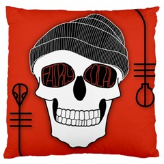 Poster Twenty One Pilots Skull Large Cushion Case (one Side)