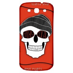 Poster Twenty One Pilots Skull Samsung Galaxy S3 S Iii Classic Hardshell Back Case