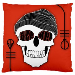 Poster Twenty One Pilots Skull Large Flano Cushion Case (one Side)