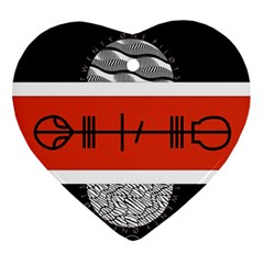 Poster Twenty One Pilots Ornament (heart)