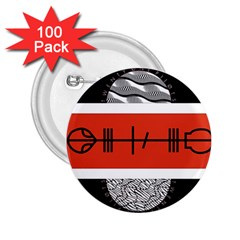 Poster Twenty One Pilots 2 25  Buttons (100 Pack)