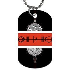 Poster Twenty One Pilots Dog Tag (two Sides)