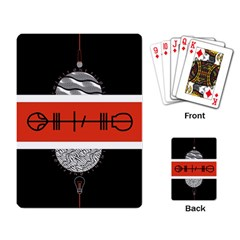 Poster Twenty One Pilots Playing Card