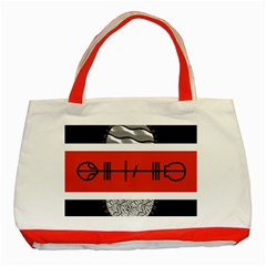 Poster Twenty One Pilots Classic Tote Bag (red)