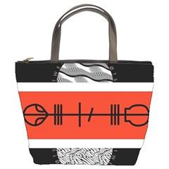 Poster Twenty One Pilots Bucket Bags