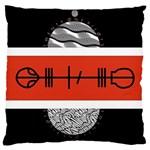 Poster Twenty One Pilots Large Flano Cushion Case (One Side) Front