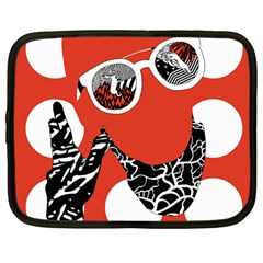 Twenty One Pilots Poster Contest Entry Netbook Case (large)