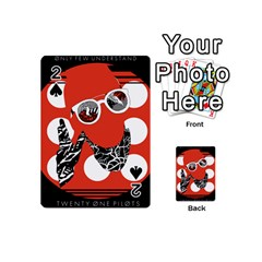 Twenty One Pilots Poster Contest Entry Playing Cards 54 (mini)