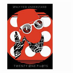 Twenty One Pilots Poster Contest Entry Small Garden Flag (two Sides)