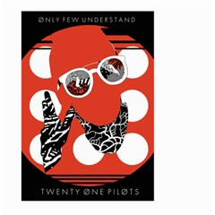 Twenty One Pilots Poster Contest Entry Large Garden Flag (two Sides)